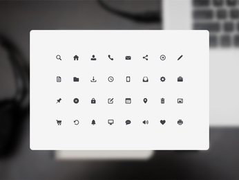 32 Free Icons (.psd)