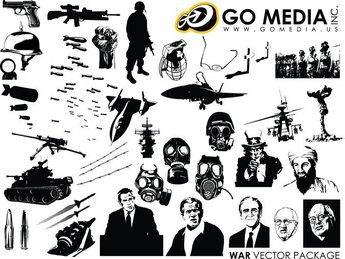 Go Media Produced Vector War Theme