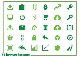 Web And Technology Icons