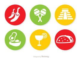 Mexican Icons Vectors Pack 2