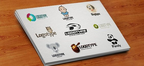 PSD Logo Design Templates Pack 4