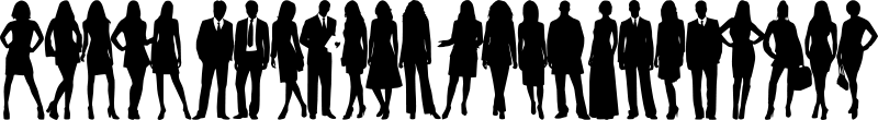 group silhouette