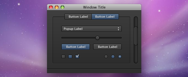 OSX App Interface Elements