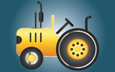 Icon Yellow Tractor