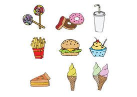 Free Fast Food Vector Pack