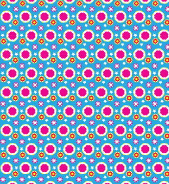 Colorful Abstract Seamless Vector Pattern