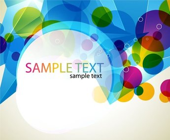 Abstract Colorful Design Vector Artwork