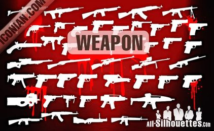 45 Vector Military Weapon