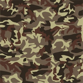 Brown Camouflage Background