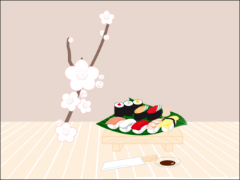 Sushi Vector Graphics Sushi