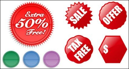 Sale offer tax free discount reduced