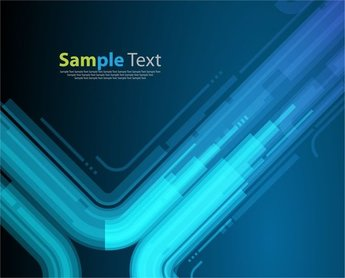 Technology Style Blue Abstract Background