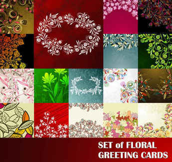 Flowers Pattern background