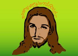 Jesus Vector Portrait