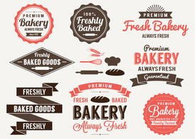 Bakery Labels and Elements
