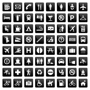 Common instructions living icon