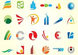 Simple Logo Shapes Vectors