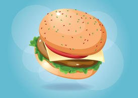 Burger Vector Food