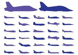 Airplane Silhouettes Pack