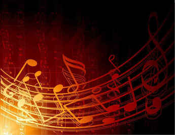 Free Vector Abstract Music Background