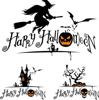 Halloween Witch And Graphics
