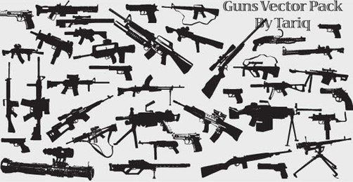 Guns Vector Pack