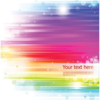 Abstract rainbow backgrounds
