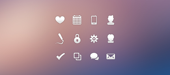 Finely Crafted Icon Set
