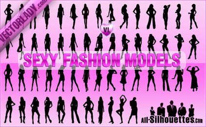 56 Sexy Fashion Models