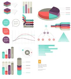 Classic Style Info Graphic Chart Pack