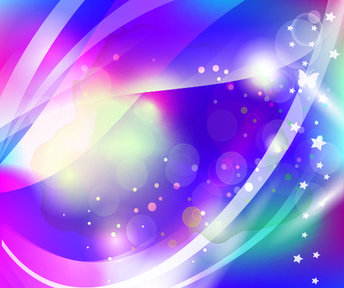Abstract Sparkling Background with Butterfly