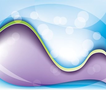 Abstract Fantasy Wave Background