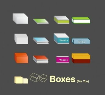 Free Vector Boxes