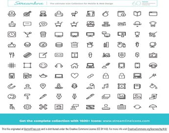 Huge Free Icon Vector Pack
