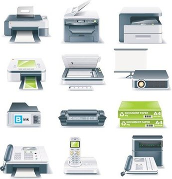 Printers, Fax Machines, Projectors and Other Office Equipment