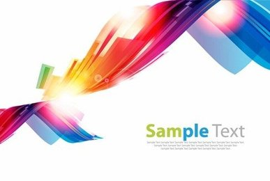 Abstract Vector Colorful Background Artwork
