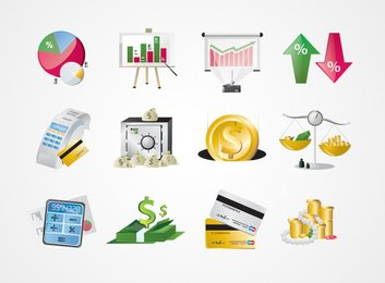 Financial Business Icons (Free)
