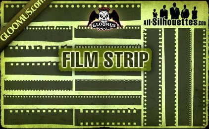 16 Vector Film Strip