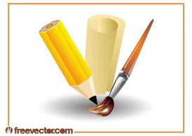 Art Supplies Design