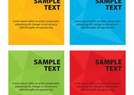 Polygonal Vector Backgrounds