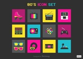 Free 80s Vector Icons