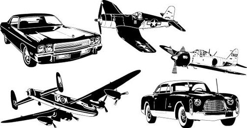 Cars and Airplane Free