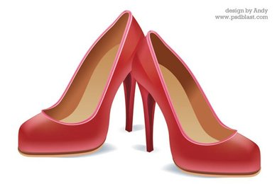 High heel shoe icon