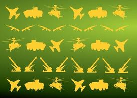 Military Icons Pattern