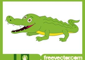 Happy Crocodile