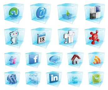 Web2.0 icons have been frozen
