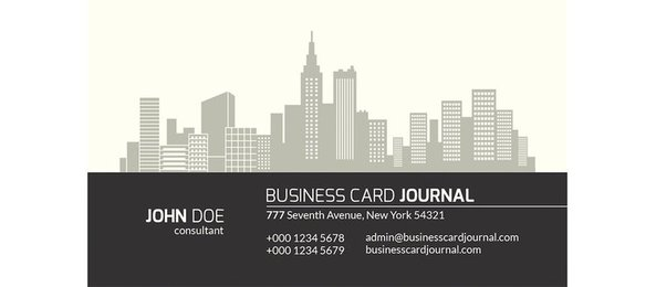 City View Real Estate Business Card Set