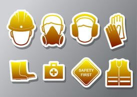 Health and Safety Vector Icons