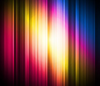 Abstract Colorful Glowing Stripe Background