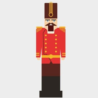 NUTCRACKER VECTOR CLIP ART.eps